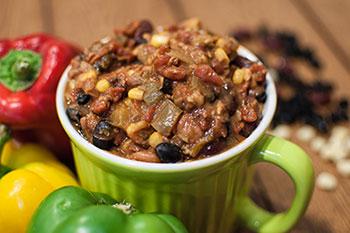 Vegetarian Chili, Soup, Lunch, Portland Oregon