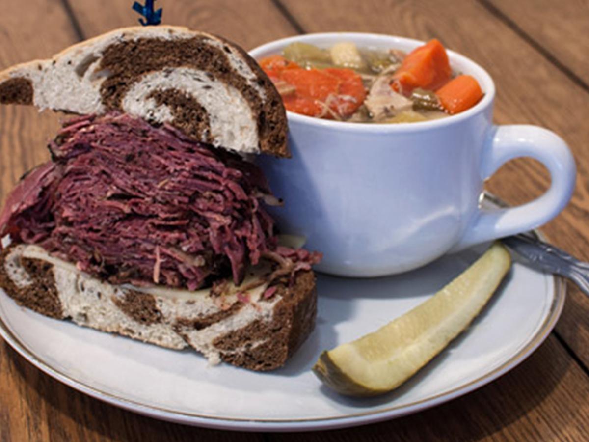 Box Lunch, Salads, Soup and Sandwiches, Portland Oregon